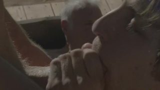 Hot Grandpa Hooks Up With Porn Stars – Calvin Banks, Alex Mecum, Max Adonis
