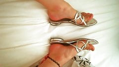 Sexy Silver Sandals