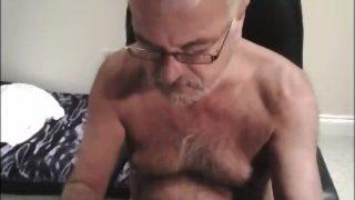 Mature Older Grandpas Cumming on Cam 59