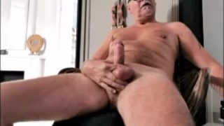Grandpa Jerks Off and Cums on Cam 17