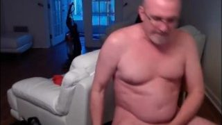 Mature Older Grandpas Cumming on Cam 54