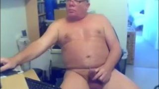 Mature Older Men Cum on Cam 42