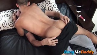 Hungry twink wants thick daddy cock up his tight bottom