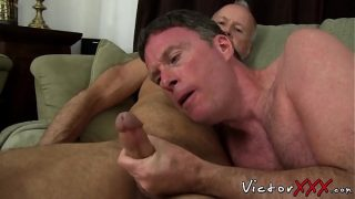 Perverted old vs young anal banging before lush cumshot